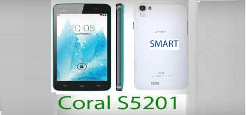 فایل فلش فارسی گوشی اسمارت Smart Coral S5201 Farsi 4.4.2