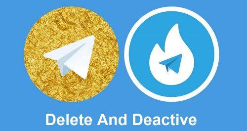 حل مشکل پاک شدن و نصب نشدن تلگرام طلایی هاتگرام